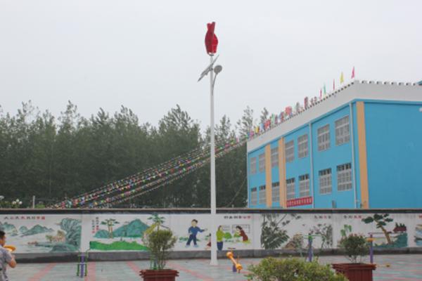 安徽灵璧县幼儿园路灯